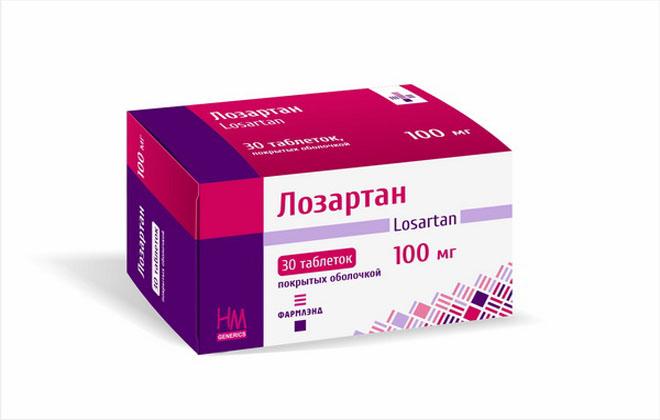 Лозартан лекарство