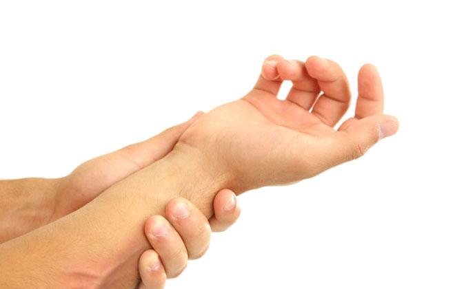 Ощущение тяжести руки