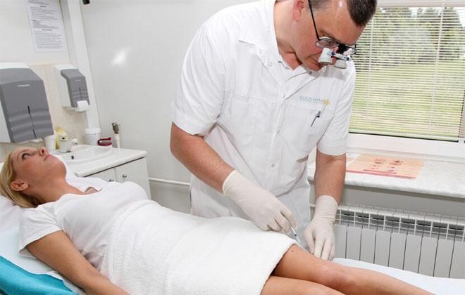 Процедура для ног