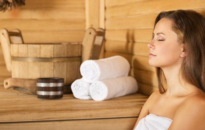 Расслабление в бане
