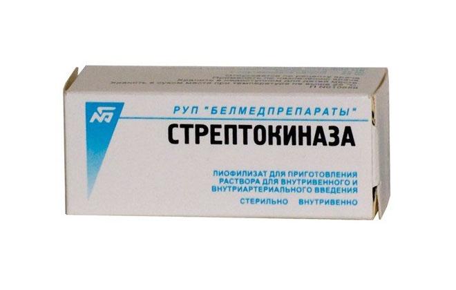 Стептокиназу препарат