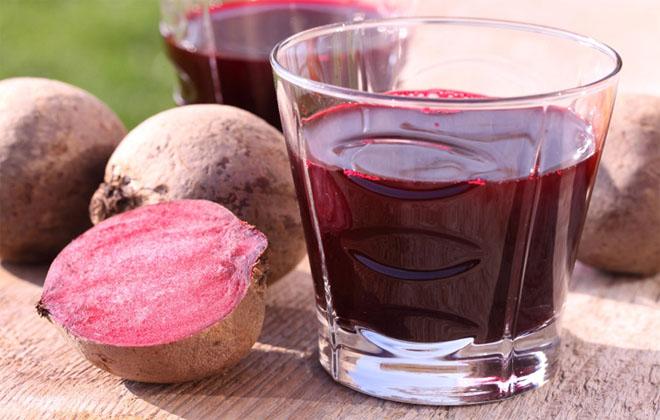Свекольный сок с клюквой