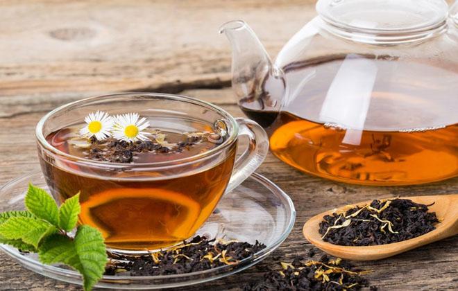 Выпивать чай