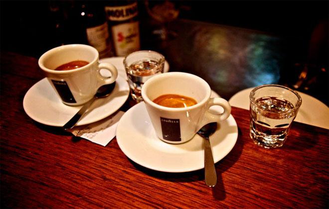 Злоупотребление алкоголем и крепким кофе