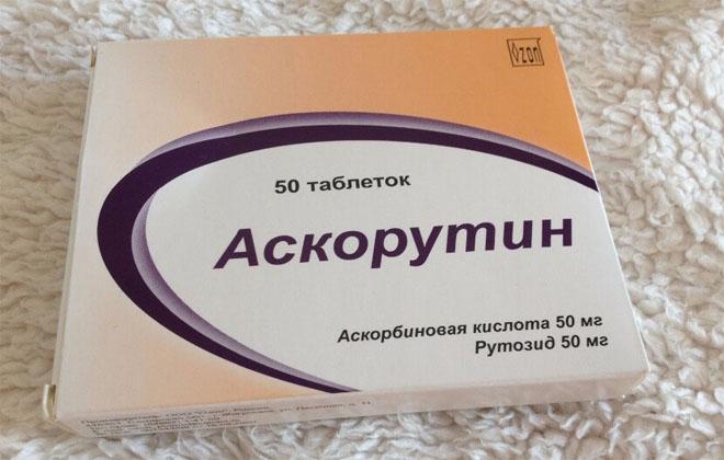 Аскорутин лекарство
