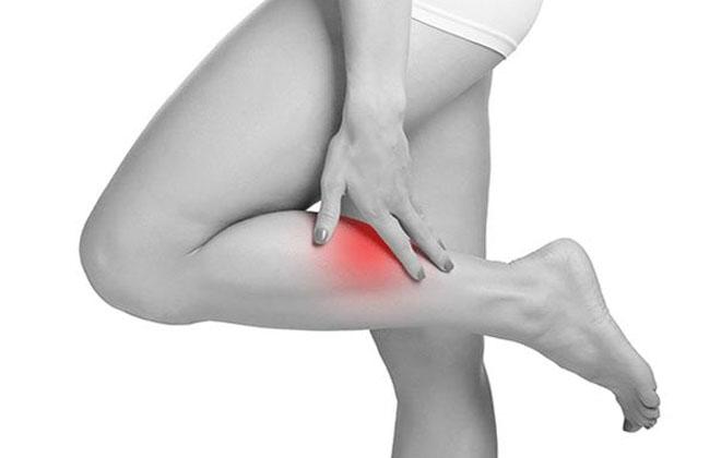 Боль в области ног