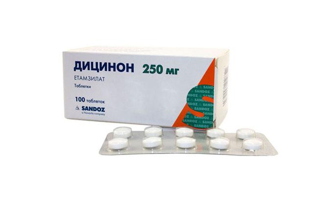 Дицинон для лечения