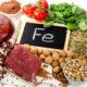 Список (таблица) продуктов богатых железом (железосодержащих) при анемии