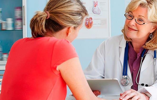 Гинеколог выписывает лекарства