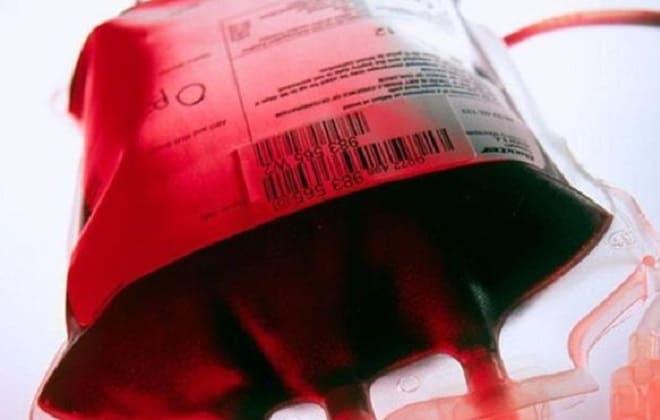Кровь в упаковке