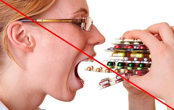 Нельзя пить таблетки