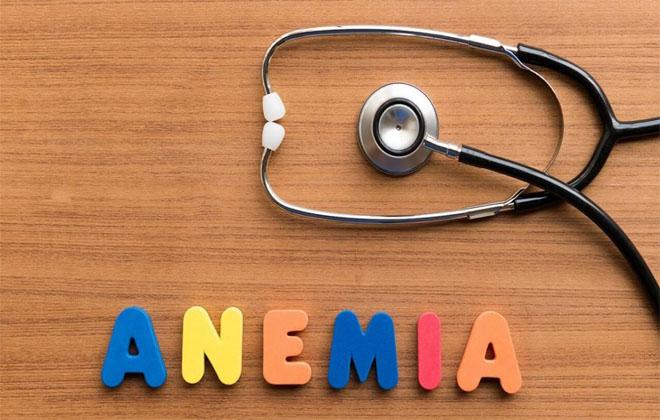 Один из видов анемии