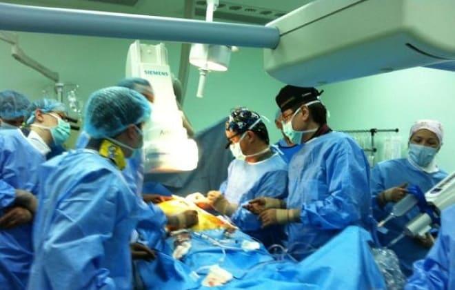 Операция по удалению аневризмы