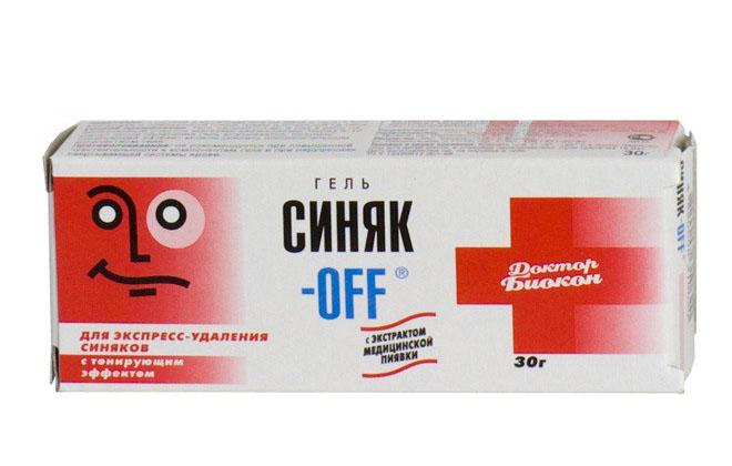 Синяк-Офф гель