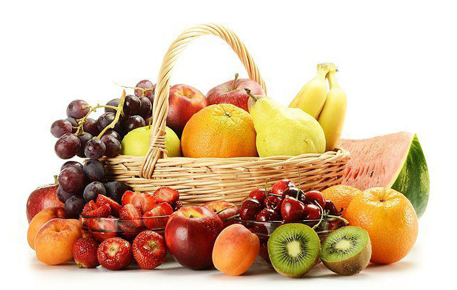 Сладкие ягоды и фрукты