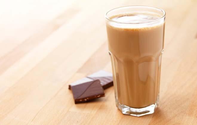Стакан какао