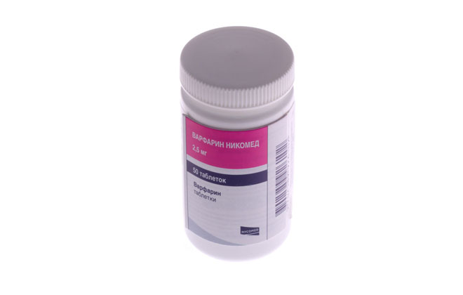 Варфарин таблетки