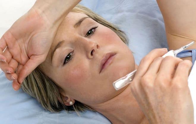 Высокая температура и лихорадка