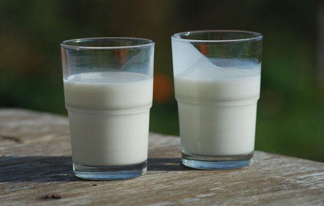 Жирные молоко
