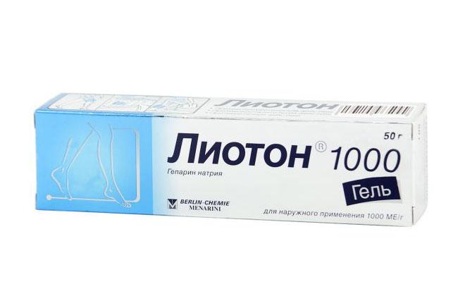 Лиотон при тромбах