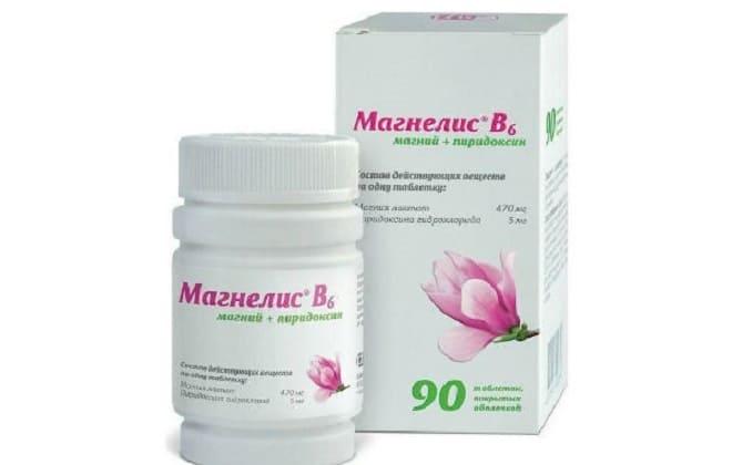 Медицинский препарат с магнием