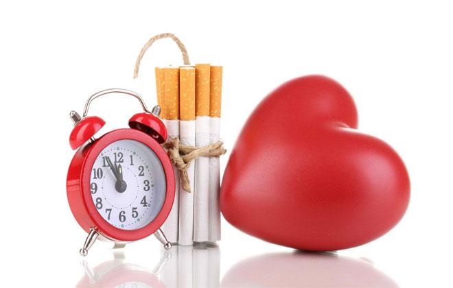 Нагрузка на сердце от сигарет