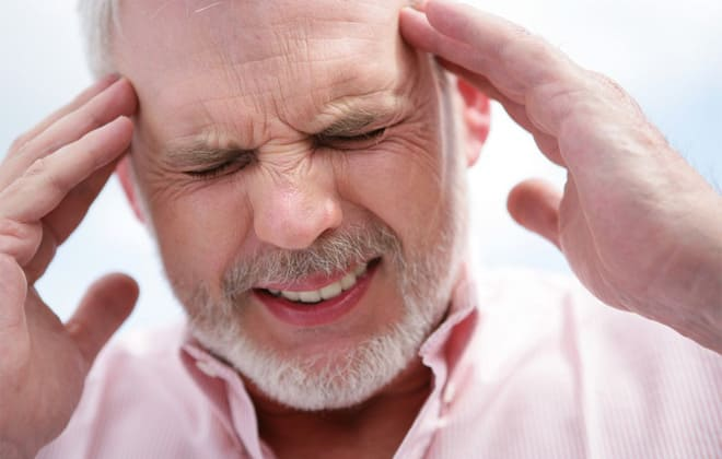 Резкие головные боли