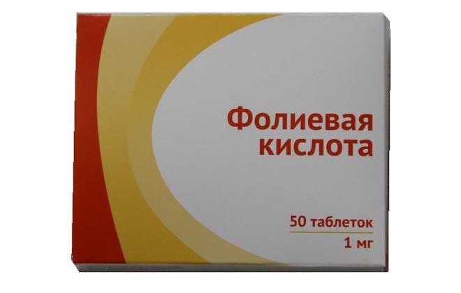 Фолиевая кислота при СОЭ