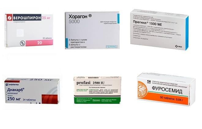 Препараты влияющие на уровень ХГЧ