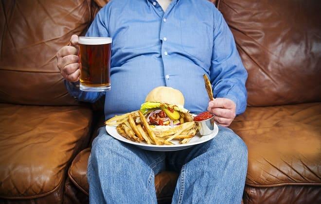 Неправильное питание и образ жизни